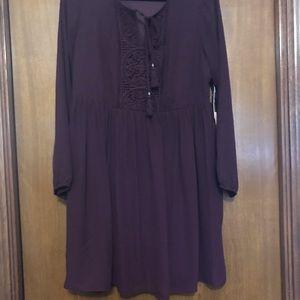 Long top or short dress.